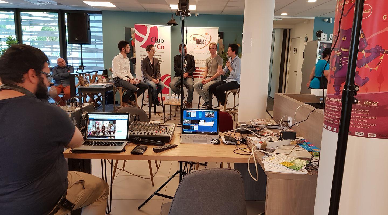 Diffusion vidéo en Livestreaming