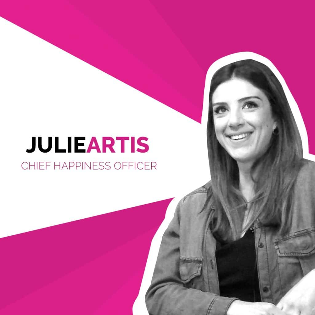 Julie Artis Chief Happiness Officer
