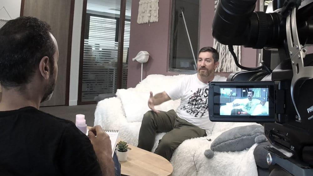 Réalisation interview vidéo professionnelle