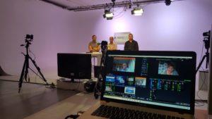 Plateau TV en direct avec Vmix