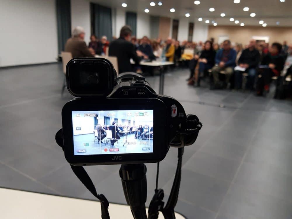 Captation vidéo de Conseils Municipaux