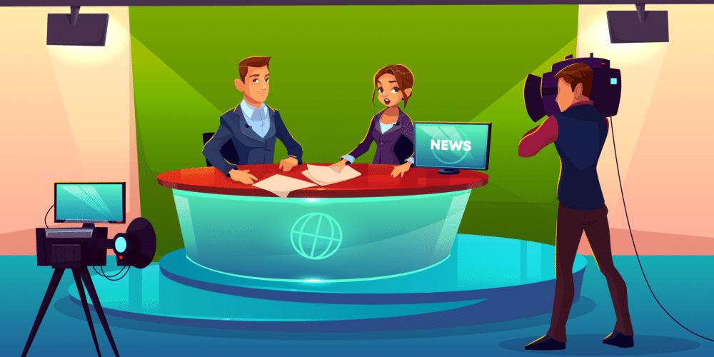 newsroom télévision